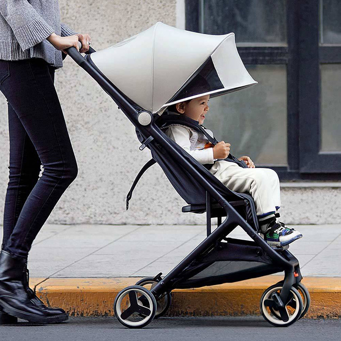 Xiaomi MiTU Folding Stroller Multifunctional Trolley Case for Babies Lightweight Portable Trolley Travel Aluminium Baby StrollerXiaomi MiTU Folding Stroller Multifunctional Trolley Case for Babies Lightweight Portable Trolley Travel Aluminium Baby Stroller