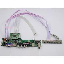 """Para LP156WF6 (SP) (D1) /LP156WF6-SPC1 1920*1080 de 15,6 """"TV HDMI VGA LED LCD EDP controlador kit"""