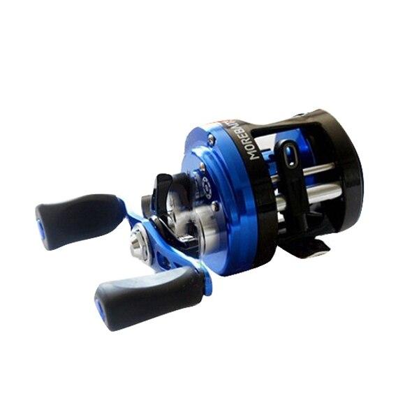 HOT-8Bb frein Force magnétique pêche bateau bobine fonte roue de tambour leurre bobine Baitcasting poisson bobine poignée sel étanche