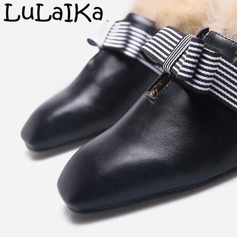 Beige Tacones Negro Zapatos Señora Sexy Boda Sólido De Redonda 2018 Cabeza Color Moda Mujer Altos Rayas Bombas Fiesta black Blanco Y Peludo WqRAnxwpw