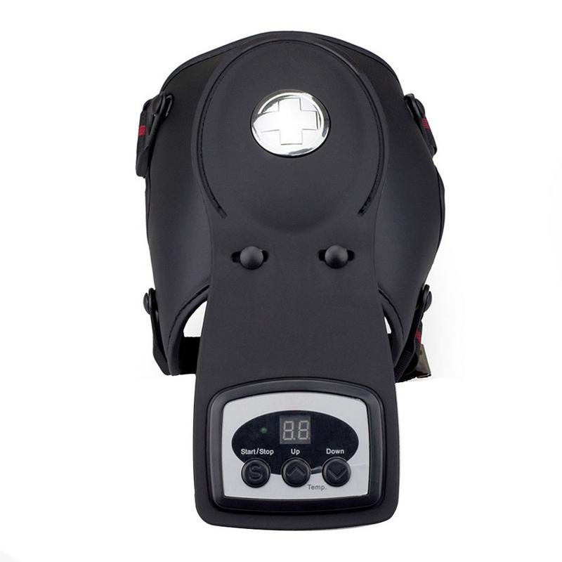 Knee Joint Physiotherapy Instrument Electric Infrared Heated Knee Massager Hot Compress Rehabilitation Kneepad Knee Pain Relief physiotherapy instrument for knee joint hot compress knee massage instrument electrothermal kneepad home rehabilitation