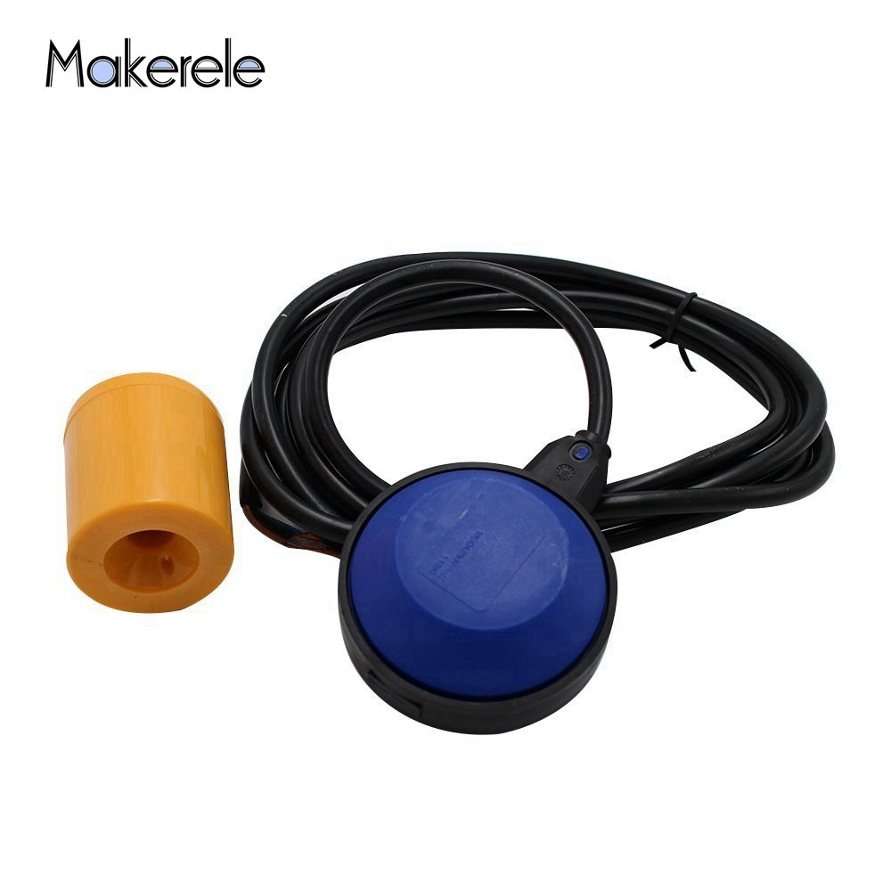 MK-CFS04 Cable Float Level Sensor Switch 3 meter yellow color float PVC cable Water Level Controller Square ShapeMK-CFS04 Cable Float Level Sensor Switch 3 meter yellow color float PVC cable Water Level Controller Square Shape