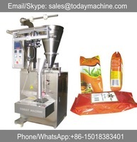 year warranty automatic small food packaging bag vertical form fill seal pouch packing machine