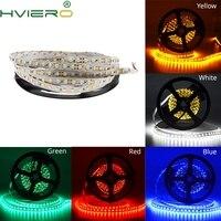 5 м 2835 3528 гибкий светодиодный полосы 600 светодиодный s 120 светодиодный S/M стол свет не водонепроницаемый белый теплый белый, красный, зеленый, ...