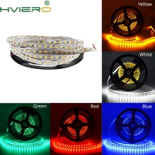 5M 2835 3528 Flexible Led Strip 600Leds 120LEDS/M Desk Light No waterproof White Warm-White Red Green Blue Yellow Night Light