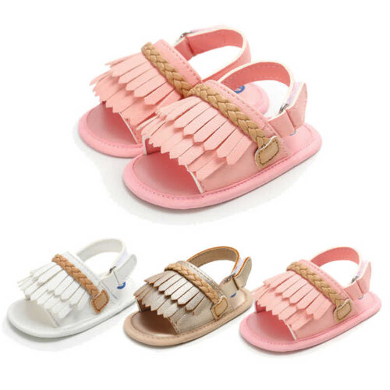 Baby Shoes First Walker Newborn Baby Girl Summer Anti Slip First Walkers Kid Soft Sole Crib Shoes Hot Footwear Shoes
