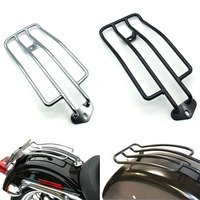 Motorcycle Rear Solo Seat Fits Luggage Rack Support Shelf For Harley XL Sportsters 883 XL1200 1985 2003