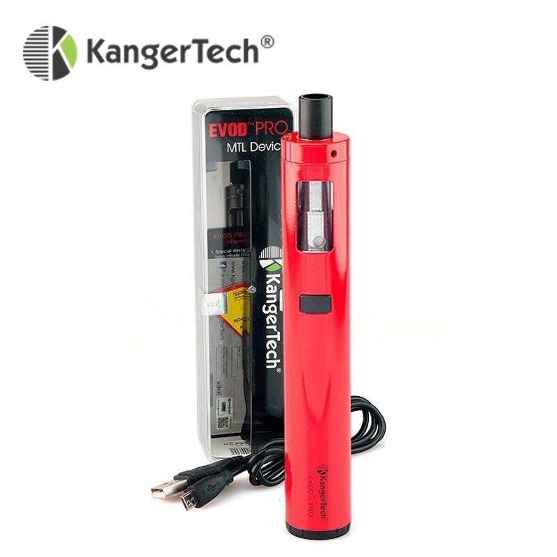 Spezielle Bieten MTL Vape Stift Elektronische Zigarette Kangertech EVOD Pro Kit 4 ml Große Kapazität Tank mit CLOCC Spule verwenden 18650 zelle