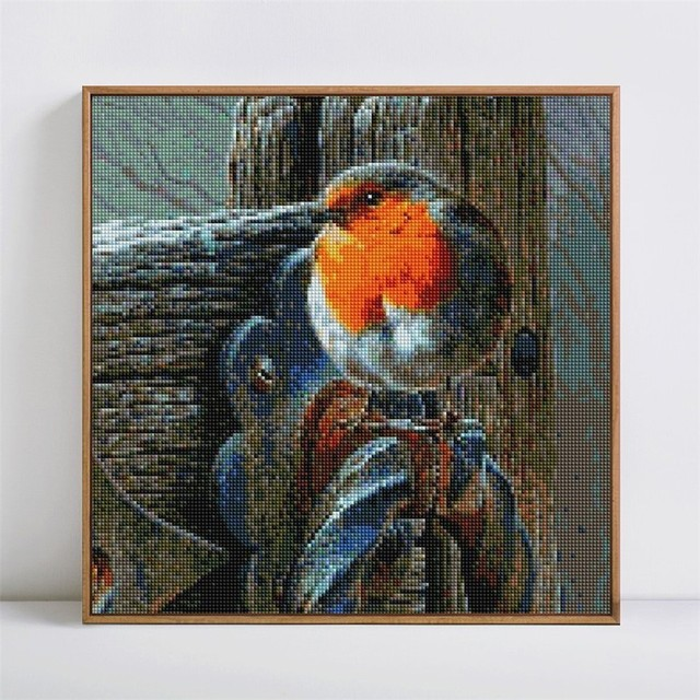 HUACAN Picture Of Rhinestones Animal 5D DIY Diamond Painting Full Square Diamond Embroidery Full Display Bird