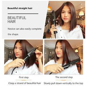 Image 5 - HS 1808 profissional alisador de cabelo elétrico alisamento cabelo ferro liso vapor cerâmica ferramenta estilo do cabelo 220 v