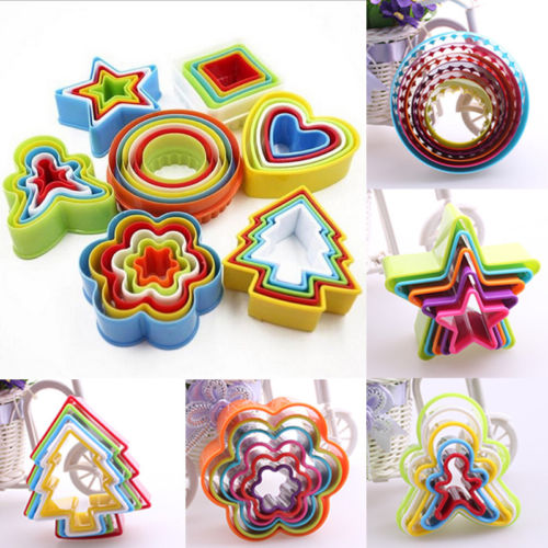 Cookie-Cutter Christmas-Biscuit-Mold Fondant Tools-Sets Baking-Mould 1set Snowman/xmas-Tree