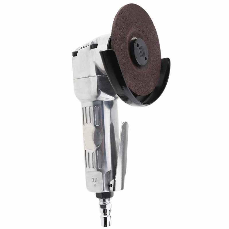 4 дюйма с высоким уровнем Скорость Пневматическая угловая шлифовальная машина с диском полированная деталь и ручка PVC для машины полированная резки Управление