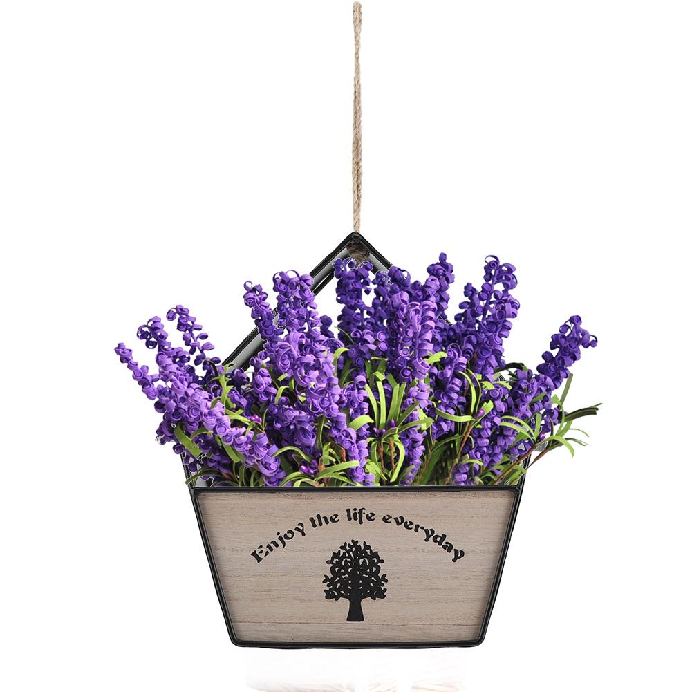 Geometric Flower Pot Iron Hanging Plant Pot Flower Basket ... on Decorative Wall Sconces For Flowers Hanging Baskets Delivery id=40229