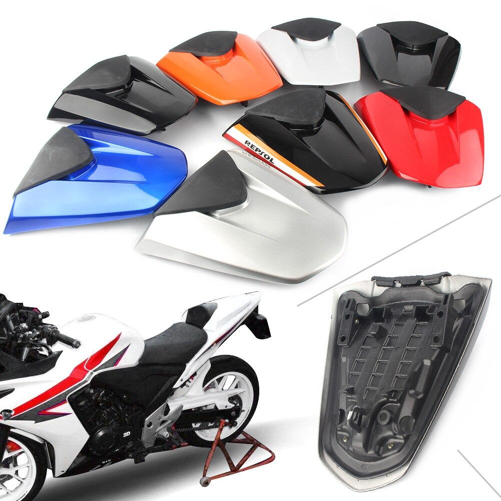 Fast Pro Funda para Asiento Trasero de Motocicleta para Honda CBR500R 2013-2015