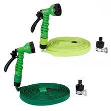 VODOOL Car Wash Cleaner High Pressure Water Gun Garden Sprinkler Irrigation Hose Expandable Magic Flexible Water Hoses Set недорого
