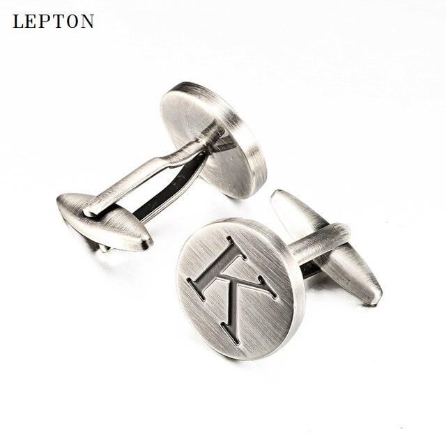 Купить запонки lepton мужские классические буквы алфавита к посеребренные картинки