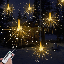 4Pack IP65 Waterproof  Remote control LED String light Battery operated LED string light Copper Wire LED Fairy light professional portable mini size 21keys remote control for colorful led light string fairy light remote control for rgb led light