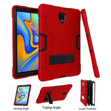 Case For Samsung Galaxy Tab A 2018 10.5 inch T590 SM-T595 T597 SM-T590 Cover Funda Tablet Kids Safe Shockproof Kickstand Shell