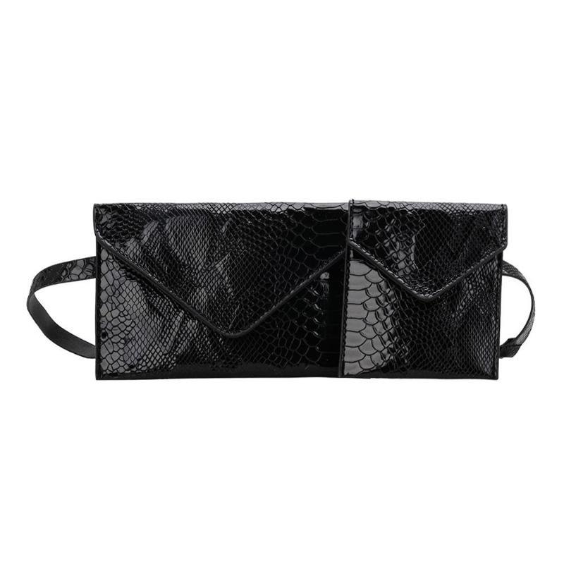 2 Teile/satz Twins Kreative Design Alligator Muster Schulter Taille Taschen Einfarbig Frauen Fanny Gürtel Brust Handtaschen 2019 Neue