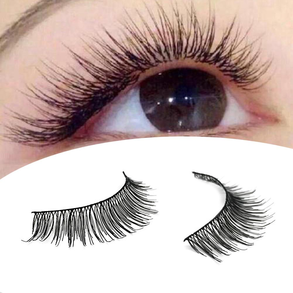 50 Pairs 5-style 3D Manual False Eyelashes Set with Tweezer Makeup Tools Each Style 10
