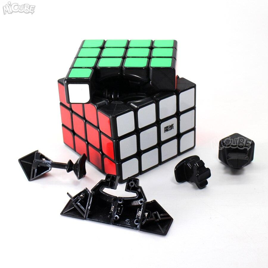 Moyu Aosu GTS2M GTS2 M 4x4x4 Cube magnétique vitesse Puzzle Cubo Magico 4x4 Aosu GTS V2 M pour jouet enfant noir sans autocollant professionnel - 4