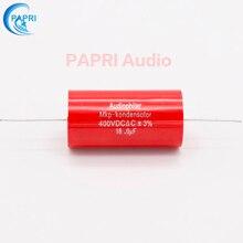 цена PAPRI 18UF 400VDC Axial MKP DIY Audio Grade Capacitor For HiFi Tube Guitar Amplifier  Lot/1PCS онлайн в 2017 году