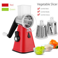 3 in 1 Roller Manual Veggie Peeler Cutter Potato Julienne Carrot Slicer Chopper Cheese Grater Shredder Device Kitchen Gadgets