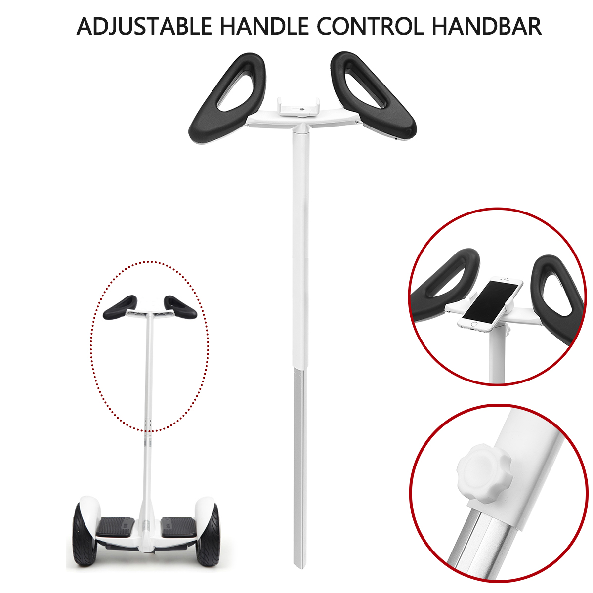 Adjustable Handle Control Handbar For Xiaomi Ninebot Mini Plus Balance Scooter Xiaomi Ninebot MiniPLUS Scooter Accessories