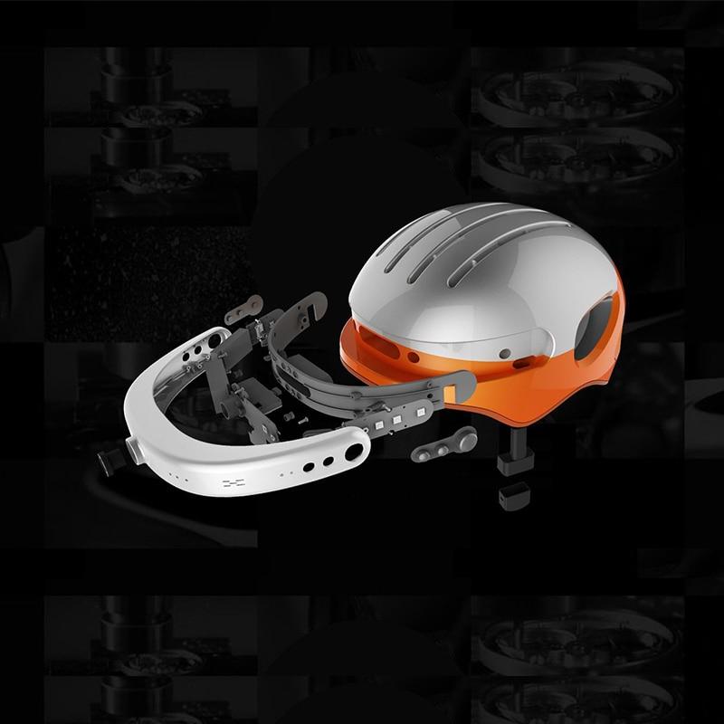 Airwheel C5 ultra-léger casque caméras Wifi APP télécommande vélo protéger caméras 2k extérieur extrême Sport casque caméras