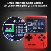 400 В 1 портативная игровая консоль Ретро Классическая Мини-игровая машина, построенная в 400 году Классическая непродублированная игра 300 в 1