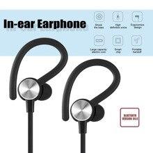 Bluetooth BT 4.0 Fones de Ouvido Intra-auriculares Fone de Ouvido Fone de Ouvido Estéreo de Música Sem Fio Hands-free Com Microfone Para Bluetooth-Dispositivos habilitados