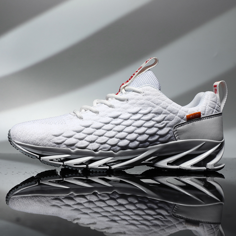 2019 New Outdoor For Men Free Running Jogging Walking Sports Shoes High-quality Lace-up Athietic Breathable Male Blade Sneakers