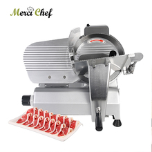 Commercial Electric Slicer Machine Mutton Rolls Meat Cutting Kitchen Food Processor Grinder