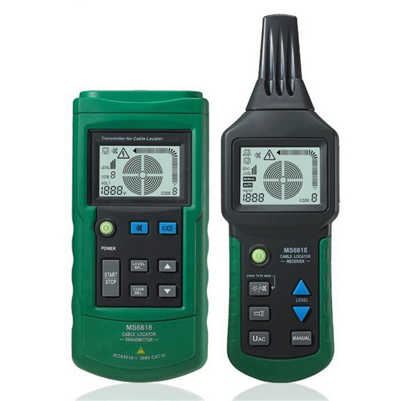 MS6818S 12 400V AC DC Wire Network Telephone Cable Tester New