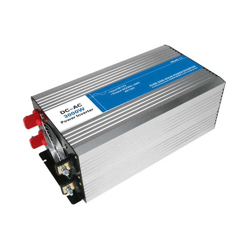 Inversor de onda sinusoidal pura 3000 w DC 12 V/24 V/48 V a CA 110 V/ circuitos de inversor de energía tronic de 220 V con lazo fuera de red barato 12 24 48 V