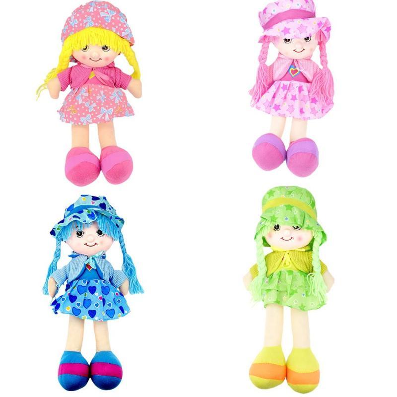Doll Stuffed Toy Plush Cartoon Skirt Hat Doll Soft Cute Baby Cloth Toys Baby Kids Soft Toy For Children Girls Boys Birthday Gift