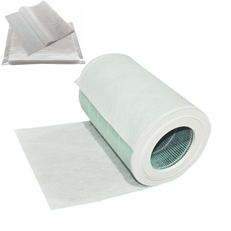 Best 20Pcs Electrostatic Cotton For Replacement Xiaomi Mi Air Purifier Pro / 1 / 2 Universal Brand Air Purifier Hepa Filter