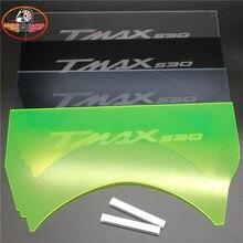 Motocicleta compartimento de plexiglass bagagem tronco partição placa de isolamento partição interna para yamaha tmax 530 2012-2016 t-max530