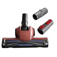 32mm ótimo piso escova cabeça ferramenta de substituição para dyson v7 v8 ar driven escova com 2 adaptador aspirador peças|Peças p/ aspirador de pó|Eletrodomésticos -
