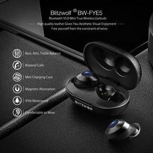 Image 2 - BlitzWolf FYE5 bluetooth v5.0 TWS True Wireless In ear Earphone Sports Waterproof HiFi Bass Stereo Sound Mini Earbuds Headset