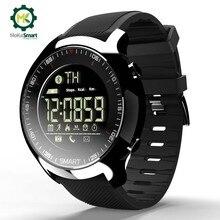 MOKA спортивные SmartWatch Bluetooth водостойкие Мужские Цифровые сверхдлинные ожидания поддержка вызова и SMS напоминание умные часы для ios