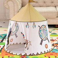 Little Lion Indian Tent Indoor and Outdoor Baby Toy Child Playhouse