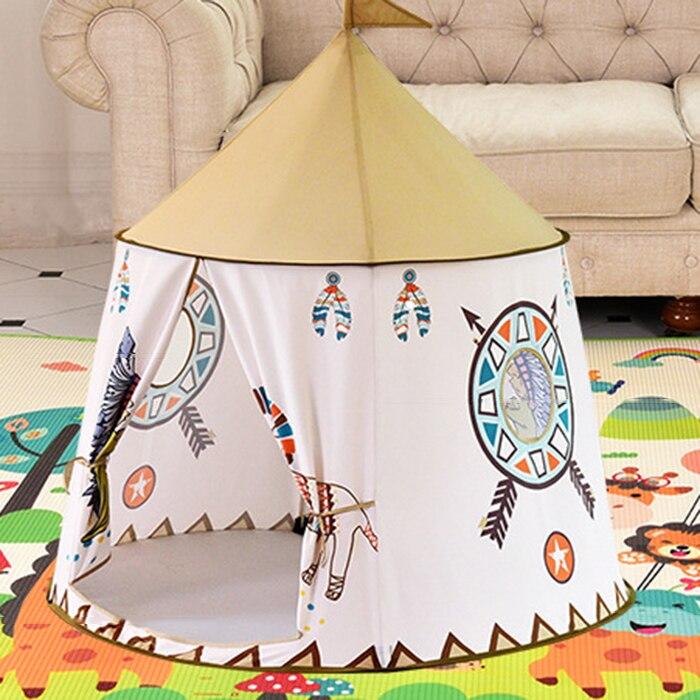 Petit Lion tente indienne intérieur et extérieur bébé jouet enfant Playhouse