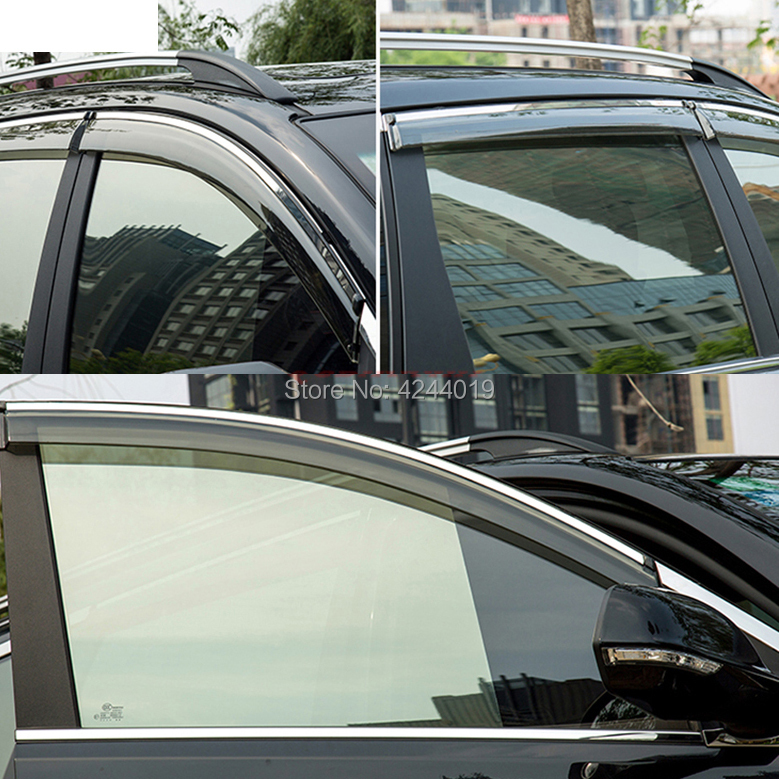 Car Sun Visor Window Visor Rain Shade for Car Window Plastic Visor Accessories For Honda Accord 2018 in Awnings Shelters from Automobiles Motorcycles