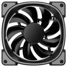Jonsbo Fr-801 Warna-warni CPU Fan PC Kasus Kipas Pendingin 12Cm Komputer Cooling Fan 12V Bisu PC Case Fan untuk Komputer(China)