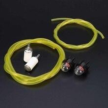Праймер лампы и топливная линия и топливный фильтр комплект для Husqvarna/Mcculloch/Echo Ryobi/Stihl Sears напорные шайбы/WeedWhackers триммер
