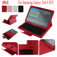 10.5 inch Tablet Case For Samsung Galaxy Tab S 10.5 SM T800 T800 T805 Detachable WiFi Bluetooth Keyboard Leather Stand Cover