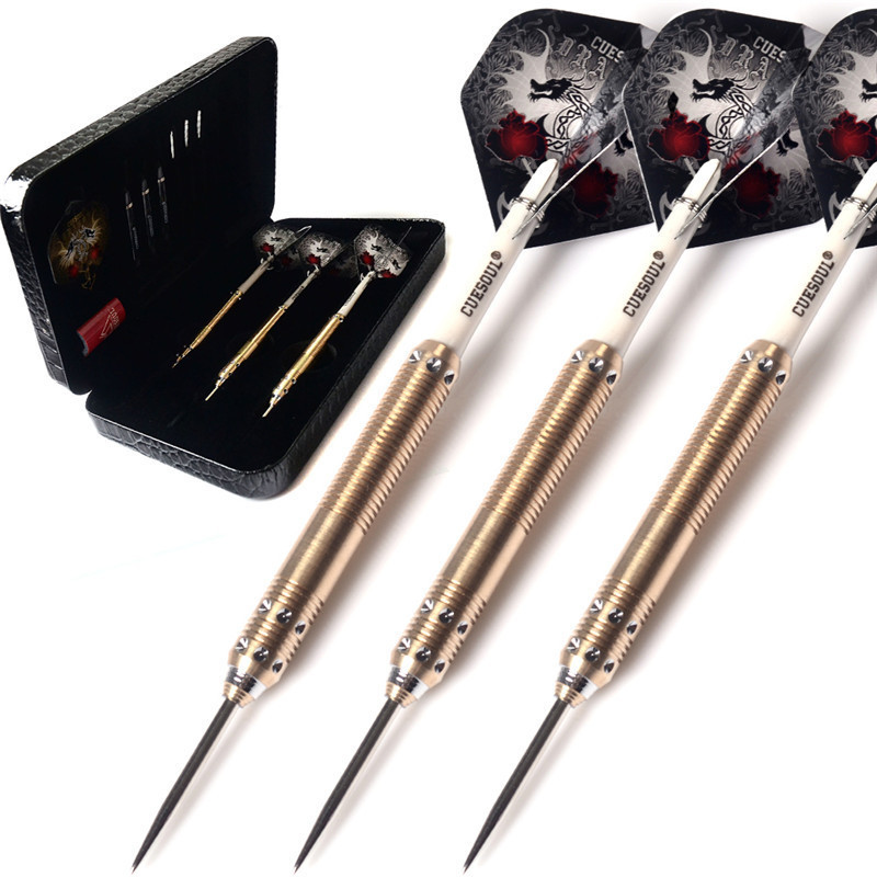 New CUESOUL Professional Electronic Soft Tip Darts 15 3cm 23g Darts With Copper Dart Barrel