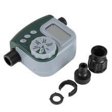 Outdoor Garden Irrigation Controller Solenoid  Timer Single Outlet Programmable Hose Faucet Timer