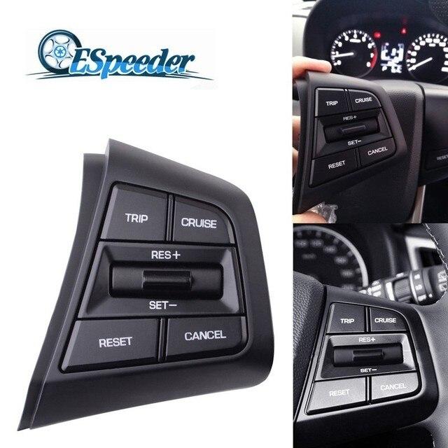 ESPEEDER لشركة هيونداي ix25 (creta) 1.6 ل رحلة كروز إلغاء التبديل عجلة القيادة زر الجانب الأيمن التدفئة/كابل قياسي